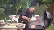 BBQ recept zalm moten op cederhout bereiden op de barbecue