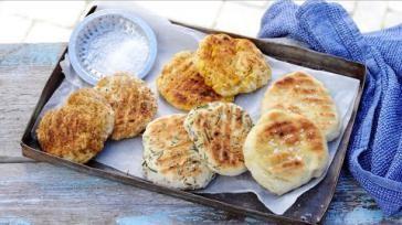 Originele barbecue recepten platbrood in verschillende varianten