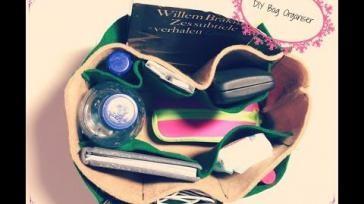 DIY handige organizer maken voor in je handtas bag organizer