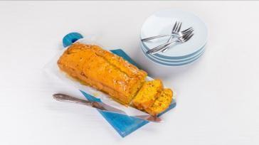 Origineel cake recept sinaasappel pompoencake met speculaaskruiden