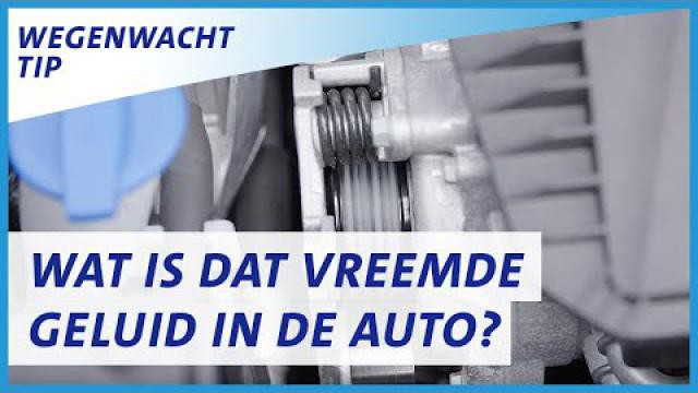 Vreemd auto geluid? Een kapotte V-snaar, kapotte uitlaat of wiellager herkennen.