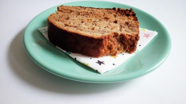 Recept: bananenbrood van speltmeel met honing.