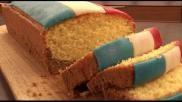 Oranje recepten cake maken met een Nederlandse vlag