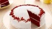 Makkelijke Red Velvet cake maken op basis van Red Velvet cake mix