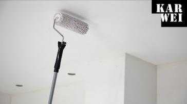 Plafond schilderen stapsgewijze instructie voor een strak resultaat