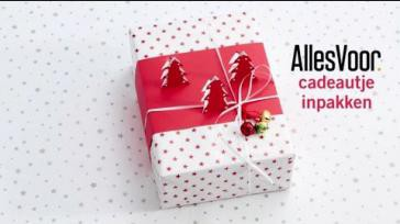 Je cadeau feestelijk inpakken met een originele cadeauverpakking