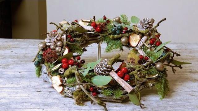 Voor-Kerst-een-heerlijk-Geurende-Krans-maken-met-een-moderne-touch