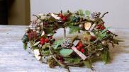 Voor Kerst een heerlijk Geurende Krans maken met een moderne touch