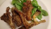 Gepaneerde oesterzwammen met Italiaanse kruiden en knoflook