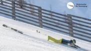 Tips en techniek voor het skien stoppen na een val