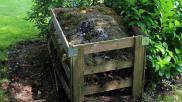 Composthoop maken de beste plek en opbouw