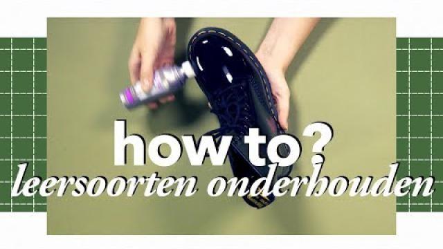 Schoenen-onderhouden-de-beste-manier-per-materiaal