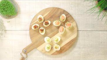 Gevulde eieren 3 originele manieren voor bijv Pasen