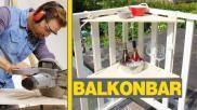 Simpel snel een originele Balkonbar maken