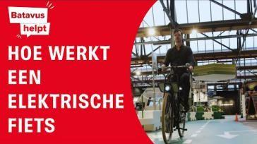 Fietsen op een e bike hoe werkt het
