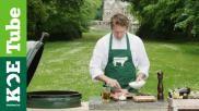 Ribeye marineren voor de BBQ met olijfolie knoflook en sjalot