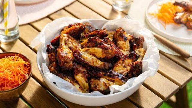Kippenvleugels-marineren-met-zelfgemaakte-barbecuesaus