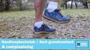 Hoe moet je je voet plaatsen tijdens het hardlopen Hardlooptechniek