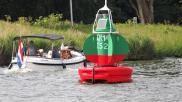 Wat is betonning op het water en hoe vaar je erlangs