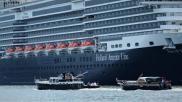 Vaarregels het passeren van grote schepen of veerpont