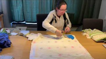 Mondkapje naaien efficienter en sneller werken