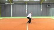 Hoe maak je een enkelvoudige backhand topspin