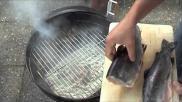 Hoe kun je een Forel roken op een Weber BBQ