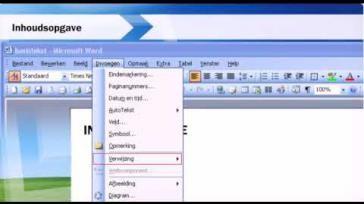 Hoe kun je een titelstructuur aanbrengen in een document en een inhoudsopgave maken en wijzigen in Word