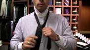 Hoe moet je een stropdas knopen Voor beginners