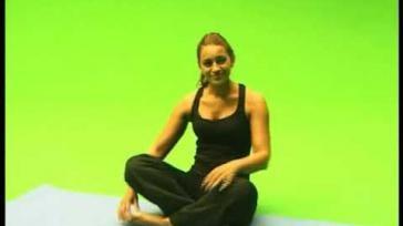 Hoe voer ik de yoga oefening de mediterende Lotusbloem uit