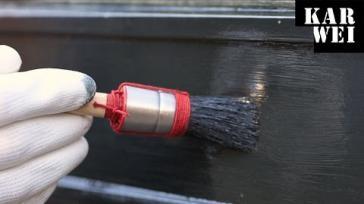 Hoe moet je het houtwerk buiten schilderen