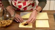 Hoe kun je met diepvries bladerdeeg appelflappen bakken