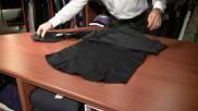 Hoe kun je netjes en snel een overhemd opvouwen