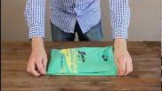 Hoe kun je supersnel en makkelijk je kleding t shirts of jasjes op vouwen Chinese stijl