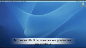 Hoe kun je een printscreen maken op de Mac