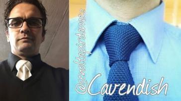 Eenvoudig een mooie volle stropdas knopen