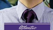 Hoe kun je een stropdas knopen De Atlantic knoop