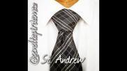 Hoe kun je een stropdas knopen St Andrew stropdas knoop