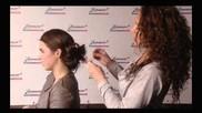 Hoe kun je met laagjes in het haar een leuke knot maken