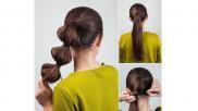 Hoe kun je een zijstaart met verschillende elastiekjes maken