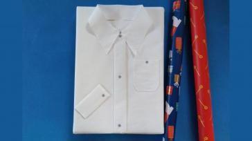 Hoe maak je een papieren overhemd als surprise