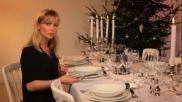 Hoe kun je jouw kersttafel dekken volgens de etiquette