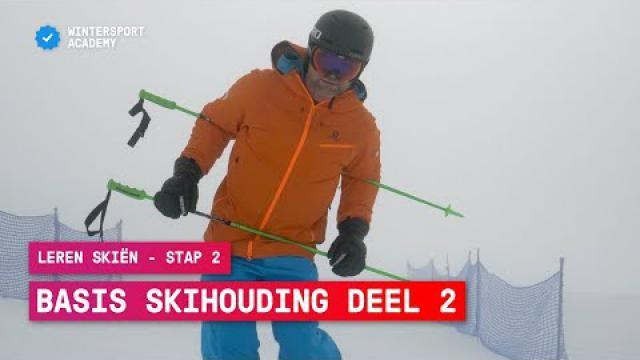 Hoe kun je een goede basis skihouding aanleren? Basistechnieken van skiën.