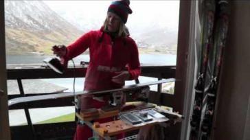 Hoe kun je zelf je ski s waxen