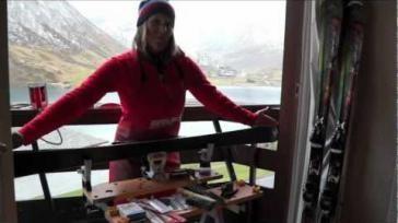 Hoe kun je zelf je ski s slijpen