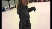 Hoe kun je leren snowboarden Remmen zigzaggen basisbochten etc