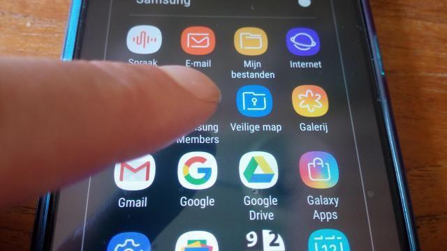 Hoe kun je een widget verplaatsen op je Samsung Android toestel?
