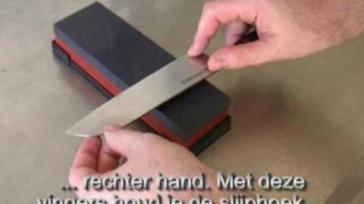 Hoe kun je zelf je messen slijpen met een slijpsteen