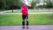 Hoe kun je bij het skaten balans houden en omgaan met obstakels