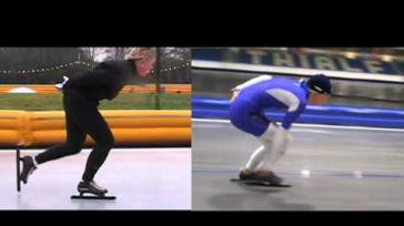 Hoe kun je je schaatstechniek verbeteren De juiste houding